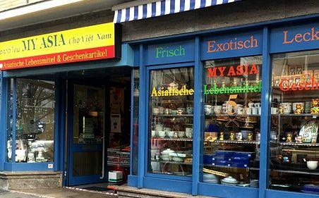 MyAsia Ladenansicht von außen